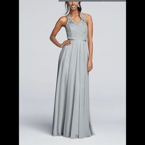 David's Bridal Mystic long dress